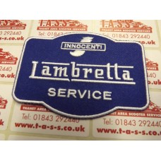 LAMBRETTA INNOCENTI LAMBRETTA SERVICE  SEW ON PATCH