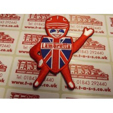 LAMBRETTA  MAN SEW ON PATCH