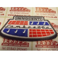 LAMBRETTA  INNOCENTI HORN CAST BADGE SEW ON PATCH