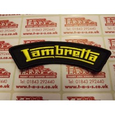LAMBRETTA LOGO SEW ON PATCH SHOULDER/SLEEVE