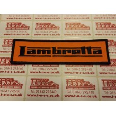 LAMBRETTA LOGO SEW ON PATCH
