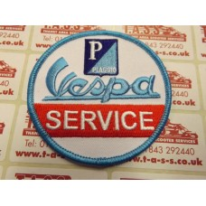 VESPA EMBROIDED SEW ON PATCH VESPA SERVICE