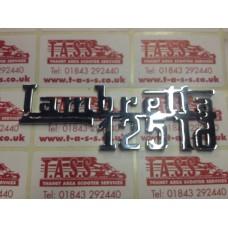 LEGSHIELD BADGE LAMBRETTA 125Ld
