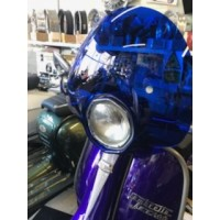 BUBBLE FLYSCREEN BLUE SX/TV/SPECIAL