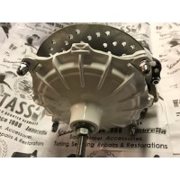 HYDRAULIC FRONT DISC BRAKE HUB - WHITE FITS DRUM LINKS