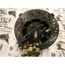 HYDRAULIC FRONT DISC BRAKE HUB -BLACK FITS DRUM LINKS