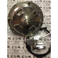 HYDRAULIC FRONT DISC BRAKE ASSEMBLY POLISHED FITS DRUM LINKS