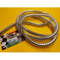 CHROME CABLE & PIPE WRAP / COVERING 10MM
