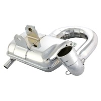 SIP ROAD 2 SPORTS EXHAUST CHROME 125/150CC