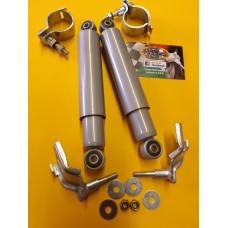 FRONT DAMPER CLAMP ON KIT SILVER