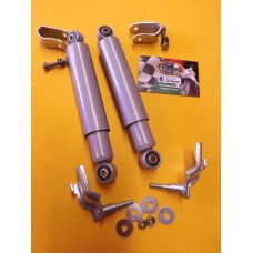 FRONT DAMPER WELD ON CLAMP KIT SILVER
