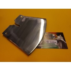 DISC BRAKE AIR SCOOP, STAINLESS STEEL