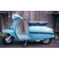 LAMBRETTAS PREVIOUSLY RESTORED