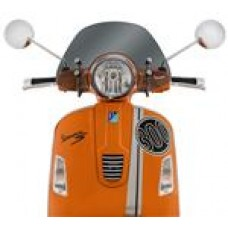 GTS FLYSCREEN GENUINE VESPA LIGHT SMOKE