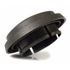 FRONT & REAR HUB DARK GREY CENTRE CAP 36MM