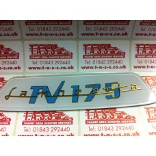 REAR FRAME BADGE-TV175 CASA