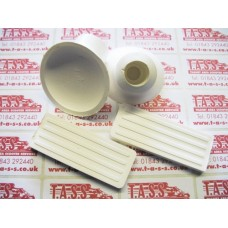 FRONT CARRIER WHITE RUBBER KIT
