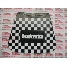 LAMBRETTA LOGO ON CHECK MUDFLAP