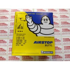 MICHELIN AIRSTOP TUBE B4(RIGHT ANGLE VALVE) 3.0/3.50/4.00-10