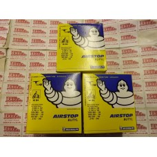 MICHELIN AIRSTOP TUBE B4(90 DEGREE)3.0/3.50/4.00-10, 3 TUBE DEAL