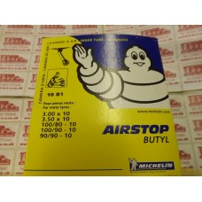 MICHELIN AIRSTOP INNER TUBE B1 3.00/350/4.00-10