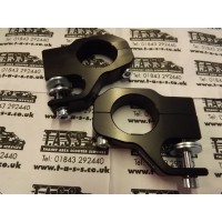 BGM PRO BOLT ON TOP FRONT DAMPER BRACKETS BLACK