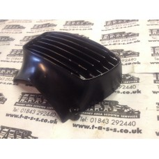HORN COVER EARLY LAMBRETTA LI SERIES 2 HORNCAST NOSE GRILL ALLOY