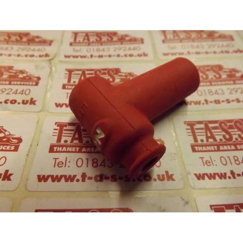 NGK PLUG CAP RED RUBBER