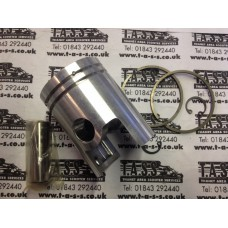 125 PISTON ASSEMBLY 52.4mm