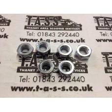 GEARBOX END PLATE NUTS 7MM