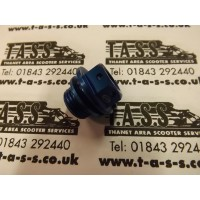 DRAIN / FILLER PLUG ALLOY ANODISED BLUE
