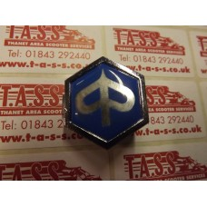 PIAGGIO HEX CLIP IN BADGE SMOOTH-PX