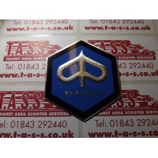 PIAGGIO HEX LEGSHIELD BADGE LARGE