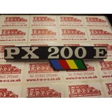 PX200EFL SIDE PANEL BADGE