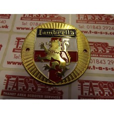 LEGSHIELD BRASS LION ROUND BADGE S1&2