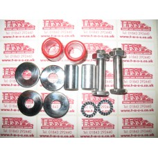 FORK LINK BOLT AND BUSH SET STAINLESS