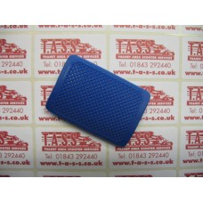 BRAKE PEDAL RUBBER BLUE CASA