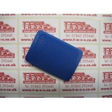 BRAKE PEDAL RUBBER BLUE