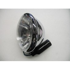 SPOT LAMP BATES  CHROME 5 3/4 INCH HALOGEN