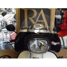 FLYSCREEN ROYAL ALLOY GP125 BLACK