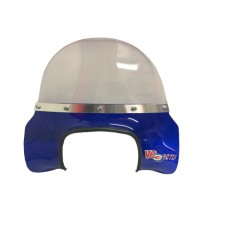FLYSCREEN ROYAL ALLOY GP & GT BLUE TRANSPARENT