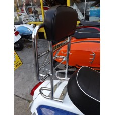 BACKREST WITH FOLD DOWN CARRIER ROYAL ALLOY / SCOMADI