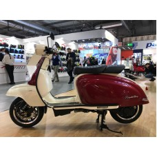 Royal Alloy TG125 S  IVORY /BURGUNDY