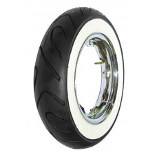 SAVA-MITAS 350x10 MC18 WHITE WALL TYRE - 51P