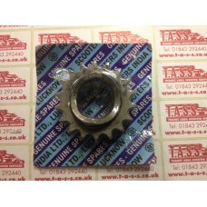 18T FRONT DRIVE SPROCKET SIL INDIAN