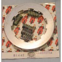 5 PLATE CLUTCH KIT -SURFLEX RED RACE COMPOUND