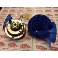 HORNS TWIN PACK 12V SNAIL SHELL BLUE