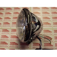 SPOT LAMP BATES STYLE  ,CHROME,4 1/2 INCH HALOGEN