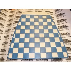 MUDFLAP LT BLUE AND WHITE CHECK 60's style THICKER TYPE