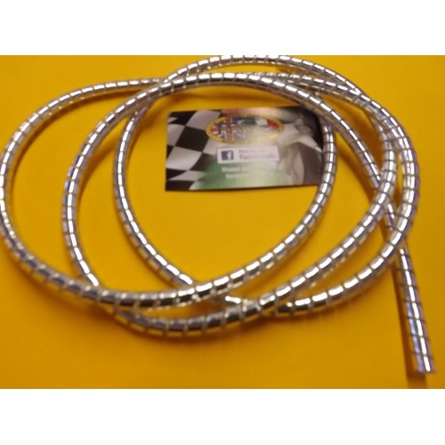 CHROME CABLE & PIPE WRAP / COVERING ,5MM